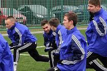 Zahájení zimní přípravy fotbalistů Sigmy - společná snídaně a trenink