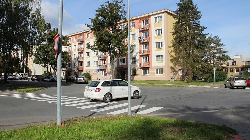 Tř. Svornosti v Olomouci zavře od 11.10. oprava v úseku od Kmochovy po Foerstrovu ulici