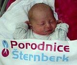 Anna Slížková, Šumperk, narozena 5. prosince ve Šternberku, míra 46 cm, váha 2670 g