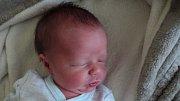 Boris Petřík, Moravský Beroun, narozen 12. června, míra 48 cm, váha 2630 g