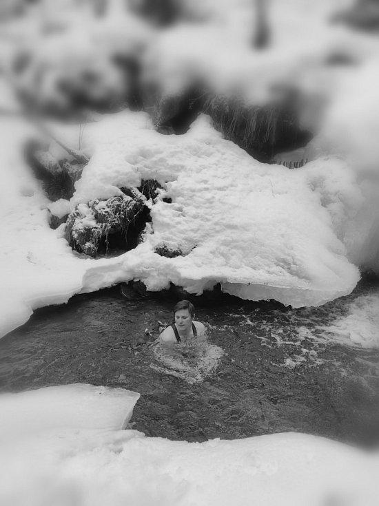 U vodopádu na Borové