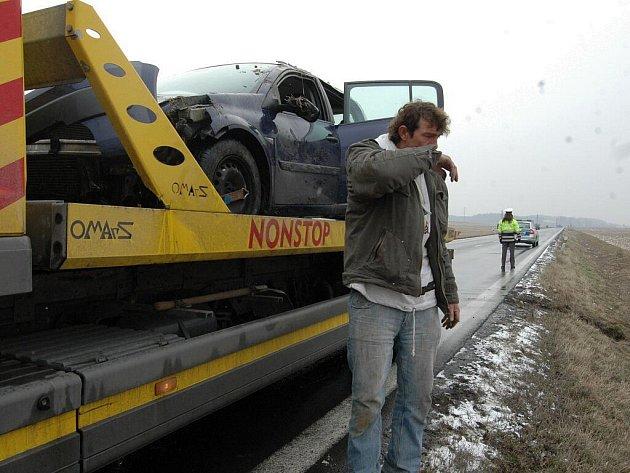 Z nehody u Krčmaně