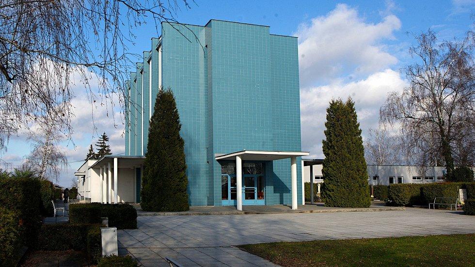 Olomoucké krematorium na hřbitově v Neředíně