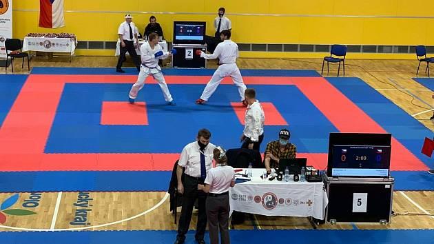 Čajkaréna hostila národní pohár Českého svazu karate.