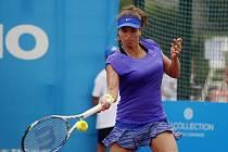 V Olomouci probíhá první kolo tenisového ITS Cupu. Petra Cetkovská.