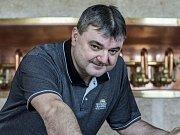 Luděk Reichl, sládek hanušovické pivovaru Holba