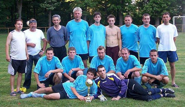 Vítězové turnaje - fotbalisté TJ Střeň