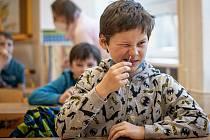 Testování školáků. Ilustrační foto