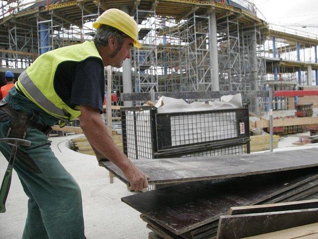 Stavba olomouckého akvaparku
