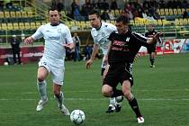 1. HFK Olomouc (v černém) vs. Břeclav