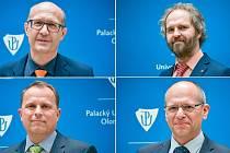 Kandidáti na nového rektora Univerzity Palackého v Olomouci