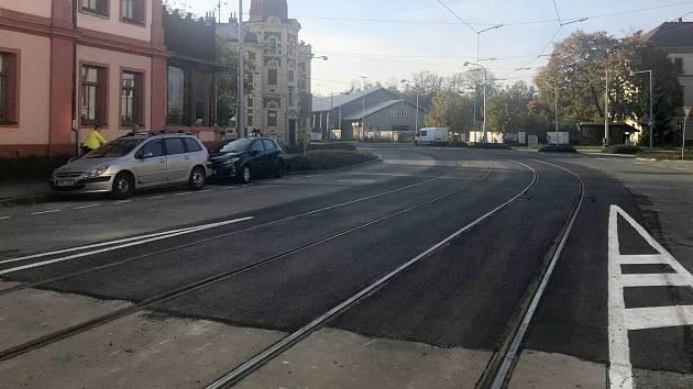 Uzavírka Litovelské ulice v Olomouci skončila. 22. října 2019