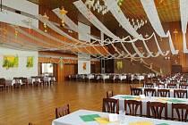 Městský klub ve Šternberku - velký sál