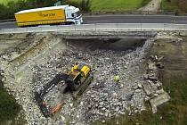 Oprava konstrukce pod silnicí R46 z Olomouce do Prostějova u Bystročic
