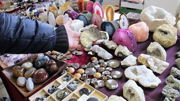 Prodejní výstavsa minerálů a šperků Mineral Expo