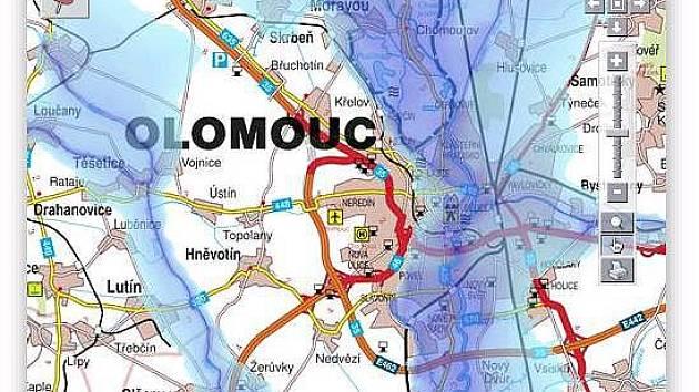 Mapy Ukazuji Riziko Zaplav I Zda Vas Pojisti Olomoucky Denik