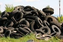 Skládka pneumatik
