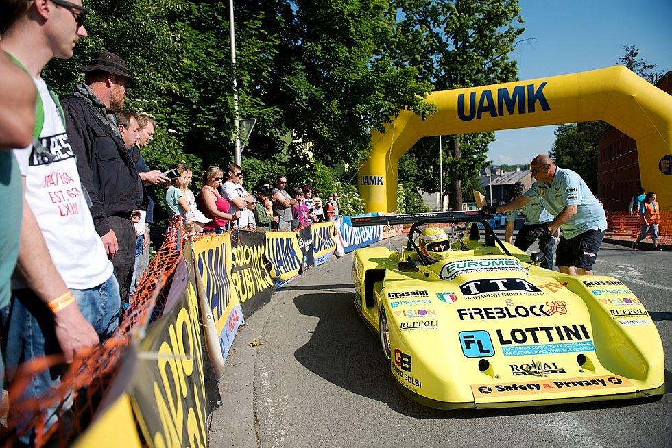 39. ročník závodu mistrovství Evropy automobilů do vrchu a na legendární trati Ecce Homo.