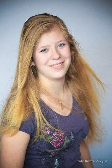 45. Anna Daňková, 15 let, studentka, Koryčany