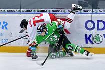 Bruslaři porazili v nedělním klání HC Olomouce 4:2. Jan Pavlíček