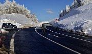 Silnice přes Červenohorské sedlo - 31. 1. 2019