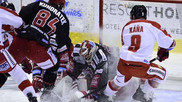 HC Vítkovice Ridera vs. HC Sparta Praha. Ilustrační foto