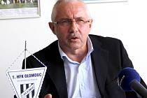 Předseda představenstva HFK Olomouc Vladimír Dostál