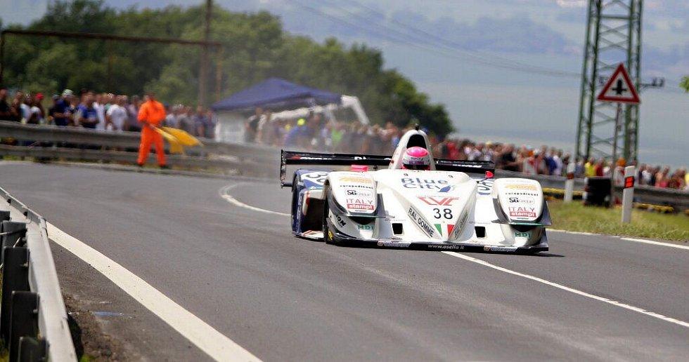 Christian Merli a vůz Osella FA30