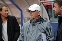 Trénink FC Fastav Zlín před zápasem Evropské ligy na Andrově stadionu v Olomouci