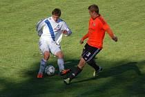 Fotbalisté třetiligového Frýdku-Místku zdolali na domácím trávníku Sigmu B 1:0.