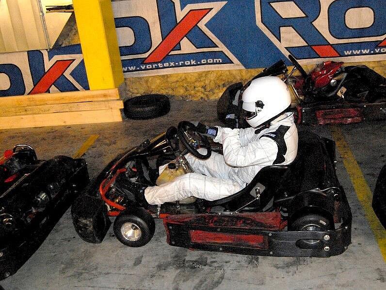 Memoriál Petra Křižana v olomoucké Lamborghini Kart Areně