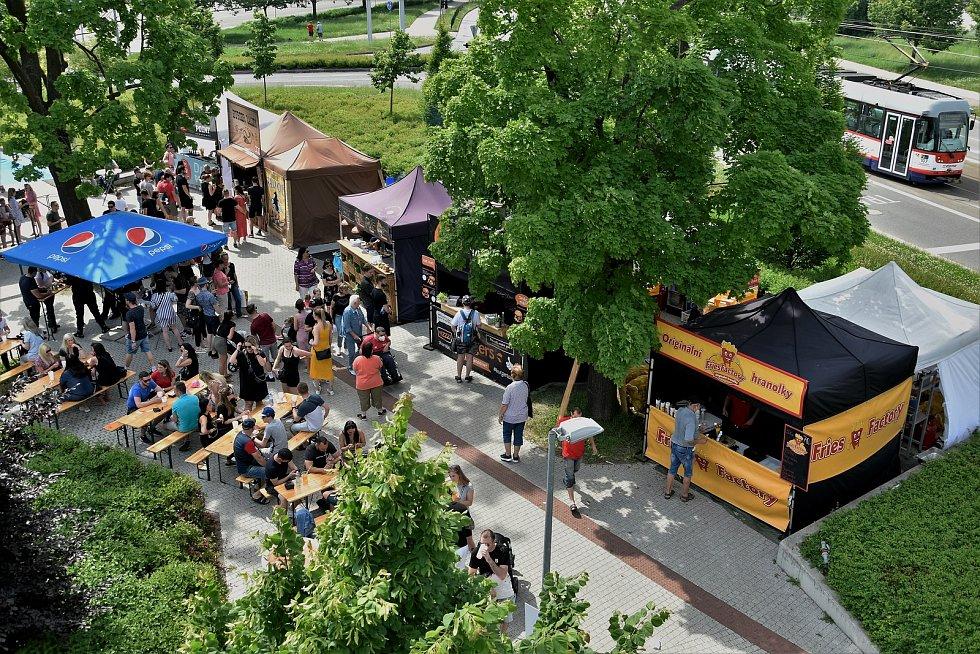 Burger Street Festival v Olomouci, 5. 6. 2021