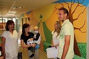 Fotbalisté Sigmy navštívili malé pacienty na olomoucké onkologii