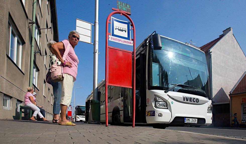 Autobus prostějovské MHD