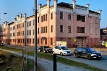 Budova zemědelské školy na Gorazdově náměstí v Olomouci, kde by mohl vzniknout Evropský dům
