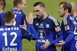Michal Ordoš slaví první gól