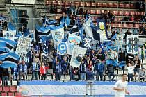 Fanoušci Sigmy na Andrově stadionu