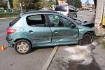 Nehoda v Hlubočkách