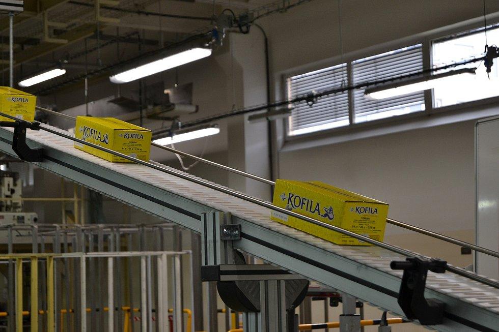 Do závodu Nestlé v Olomouci byla výroba tyčinky Kofila přesunuta na konci roku 2004 a pod značkou Orion se vyrábí dodnes. 26. června 2020
