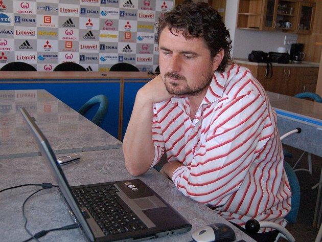 Kouč Sigmy Zdeněk Psotka v on-line rozhovoru