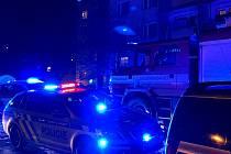 Výbuch plynu v panelovém domě v Olomouci, 14. února 2021