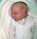 Jan Novák, Šternberk, narozen 18. února ve Šternberku, míra 48 cm, váha 3360 g
