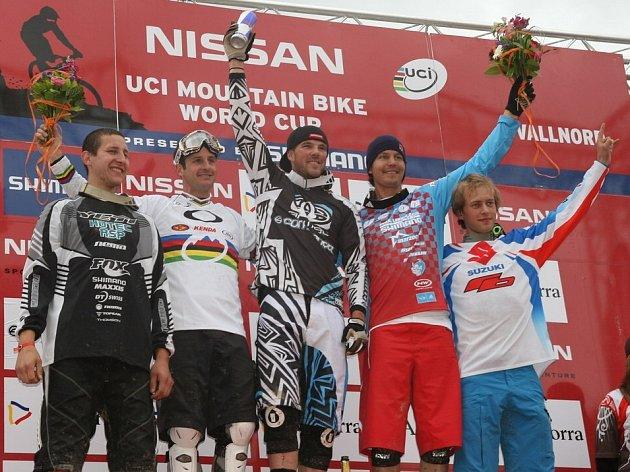 Kamil Tarkovič (vpravo) vyhrál malé finále.