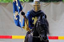 Turnaje v podání rytířského divadla Traken na hradě Bouzov