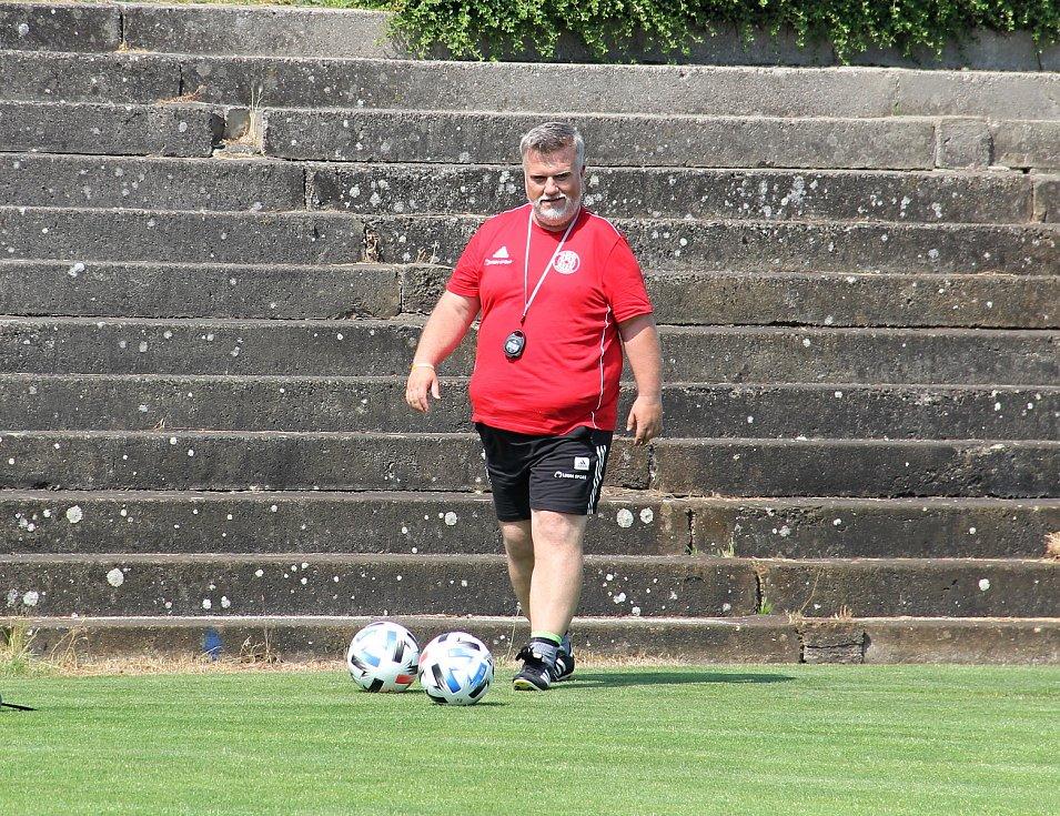 Fotbalová Sigma Olomouc zahájila přípravu na novou sezonu.Jiří Saňák