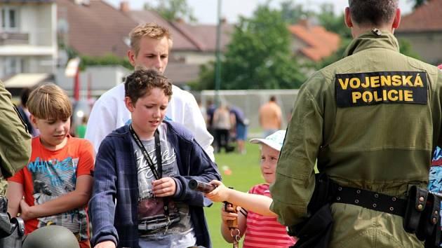 Sobotní odpolední zápolení s několika stanovišti se v obci nedaleko Olomouce odehrálo podruhé.