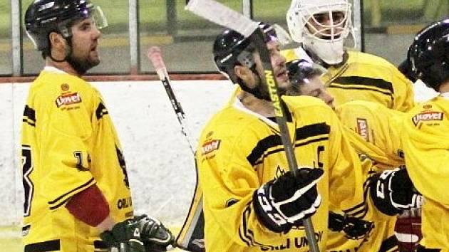 Hokejisté Uničova. Ilustrační foto