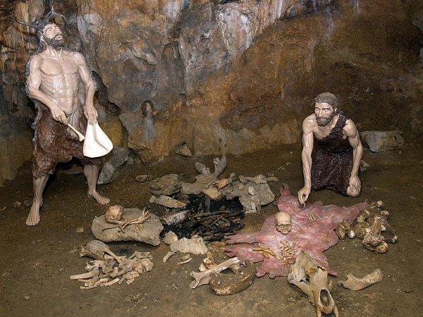 Nový vchod do Mladečských jeskyní a nová expozice kromaňonců