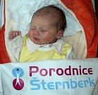 Kateřina Sittová, Dolany, narozena 6. března ve Šternberku, míra 49 cm, váha 2960 g