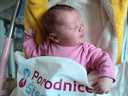 Natálie Bergerová, Pňovice narozena 3. března míra 49 cm, váha 3270 g